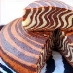 Gâteau tigré, zébré ou encore le zebra cake !