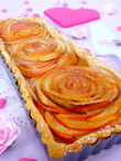 Tarte bouquet de rose INDEX