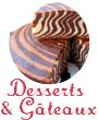 Desserts-Gâteaux