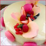 Perle de Pascal Lac (Entremet fruits rouges & vanille)