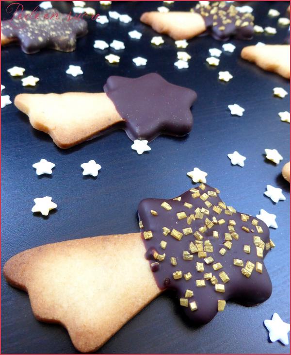 Biscuits sablés étoile filante