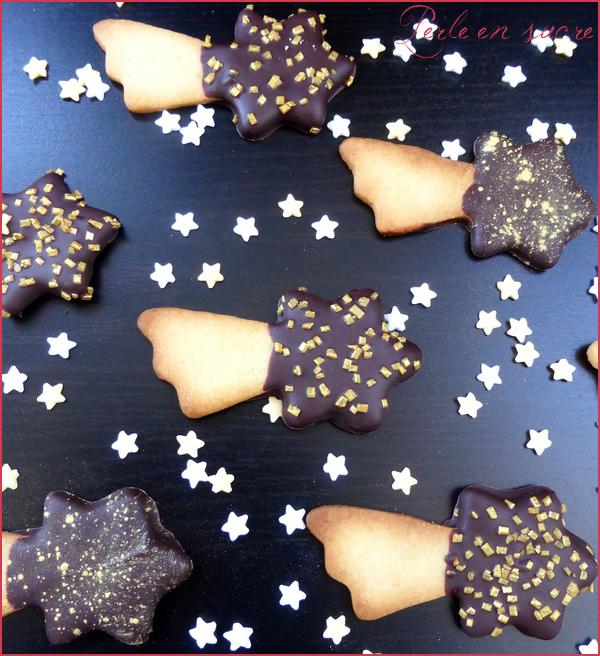 f91d1351393c Biscuits sablés étoile filante - Perle en sucre