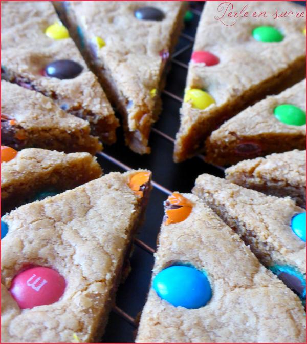 Cookie géant aux M&M'S