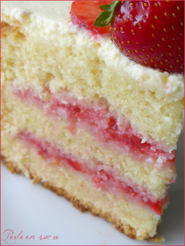 Layer cake fraise citron 4