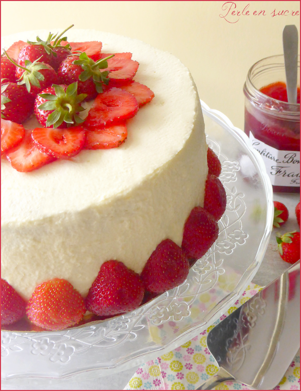 Layer Cake Fraise Citron