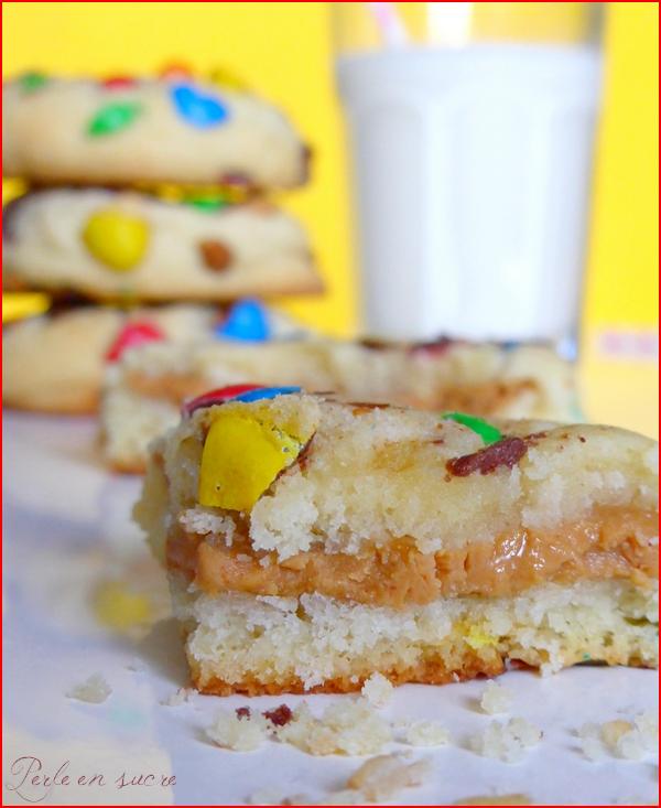 Cookies M&M'S coeur beurre de cachuète