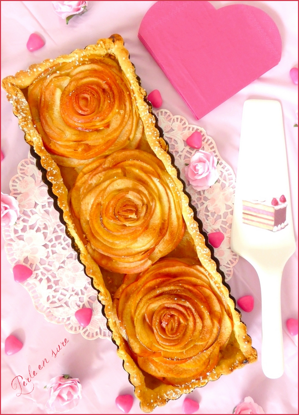 Tarte aux pommes bouquet de roses saint valentin blogs for Bouquet de rose