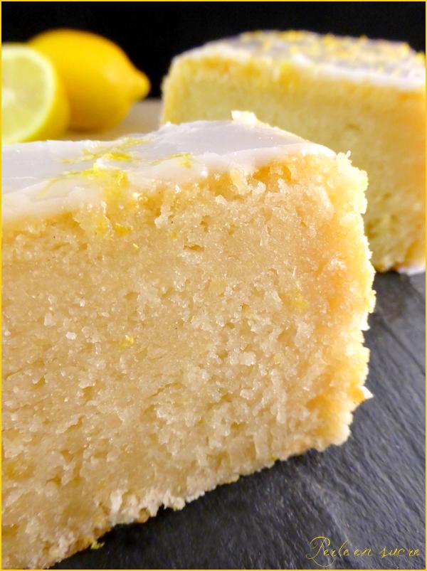 Cake Citron Glacage