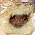 Muffins coeur chocolat noisette vegan (sans oeufs, sans lait, sans beurre)