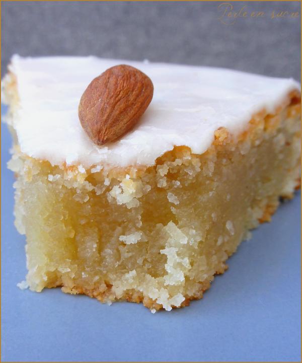 L'amandier ou gâteau fondant aux amandes vegan {sans oeufs, sans lactose, sans gluten}