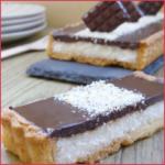 Tarte coco chocolat façon bounty {vegan}