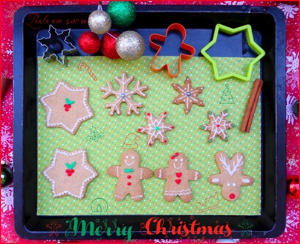Biscuits sablés de Noël aux épices {vegan}