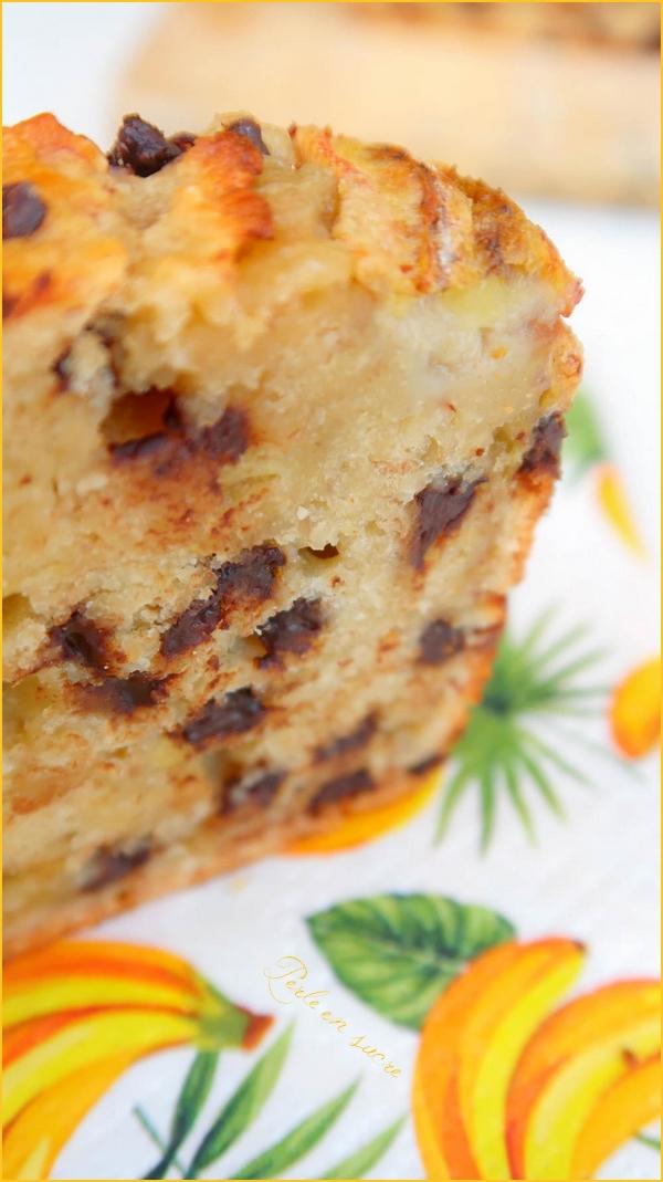 Banana bread ou cake à la banane {vegan}
